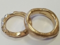 Client gold rings
