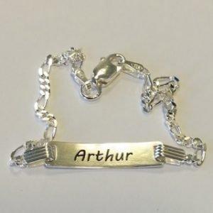 Arthur ID bracelet