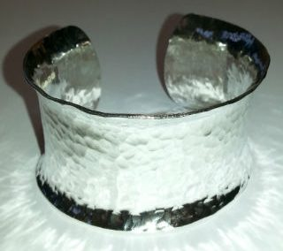 Sterling silver cuff 1