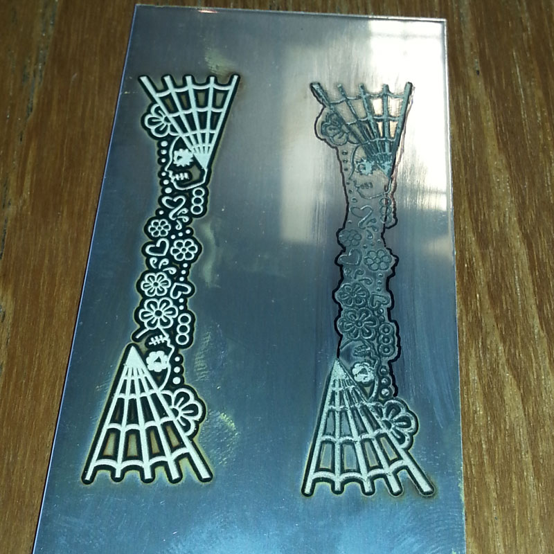 Day of the Dead laser cut design