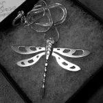 Dragonfly pendant finished