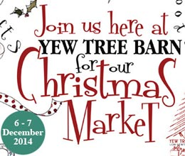 Yew Tree Barn Christmas Market Ad
