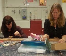 Jewellery Workshop students hard at work
