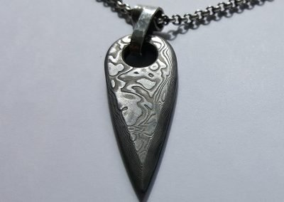 Men's Damasteel Pendant