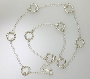 sterling silver bracelet rustic ethnic